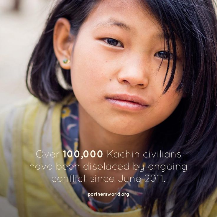 Ongoing conflict in #Kachin State in in its 5th year. More than 100,000 remain #displaced | http://www.partnersworld.org