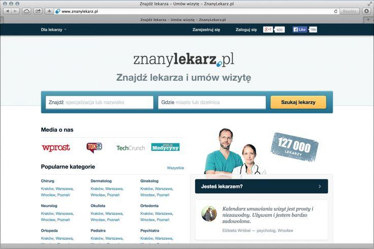 ZnanyLekarz.pl zgarnia 9 mln zł od inwestorów! :)