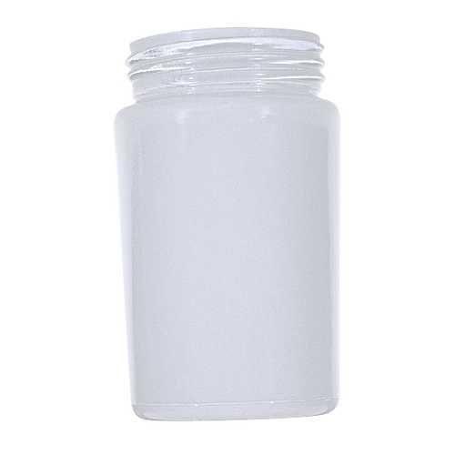 Satco lighting white cylindrical glass shade 3