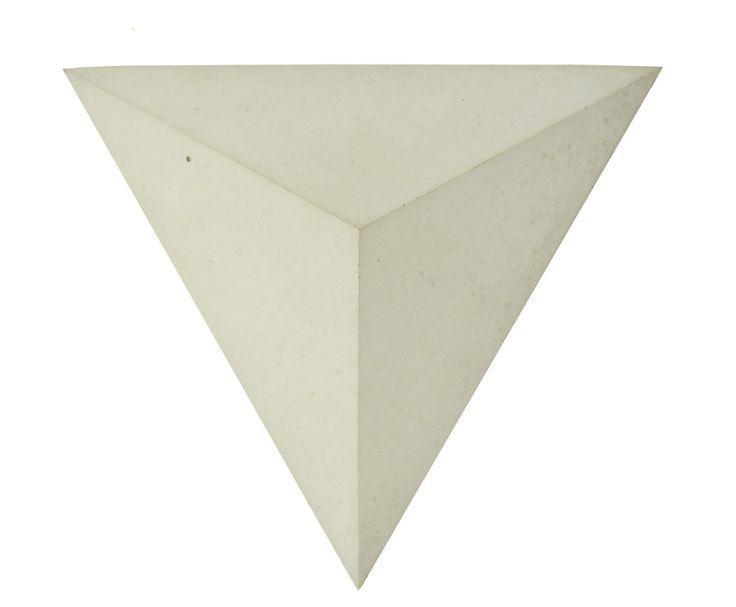 Płytka 3D Pyramids - Szara - zdjęcie od Bettoni - Beton Architektoniczny - Domy - Styl Nowoczesny - Bettoni - Beton Architektoniczny