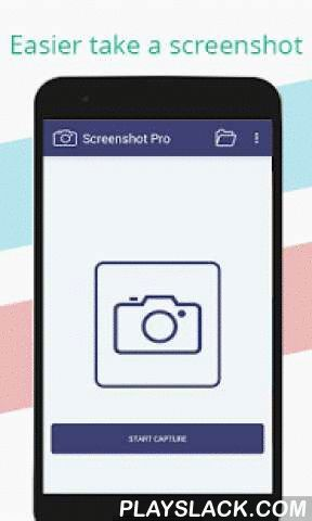 Screenshot Pro  Android App - playslack.com ,  Screenshot Pro lets you take screenshots on your tablet, phone or other Android device the easy way! Use the easiest screenshot app to not only take snapshots but also view, edit or share them directly.※ Requirements : Depending on your device you can use the following triggers:• For ROOT device: Click on the screenshot icon• For UNROOT device : Hold 'Power button' and 'Volume-down button' for 2 seconds• Or Hold 'Power button' and 'Home button'…