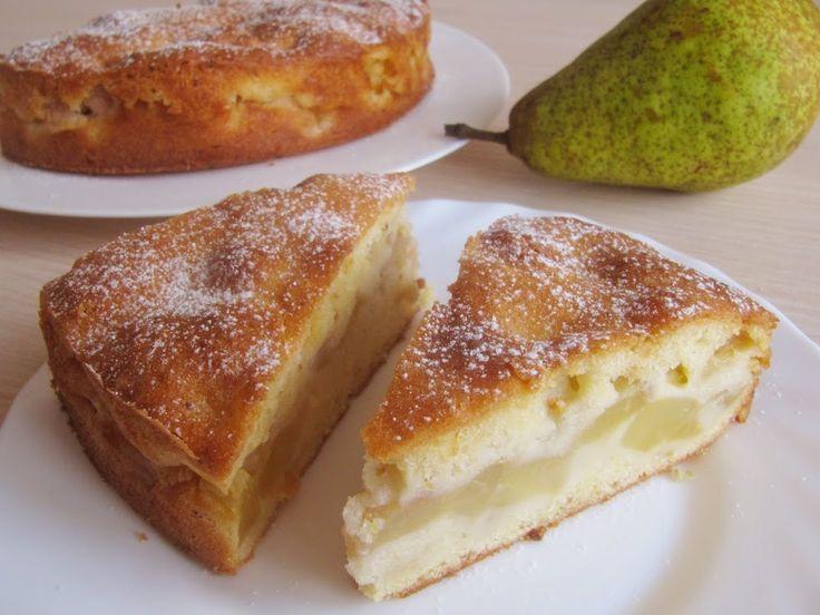 Французский грушевый пирог