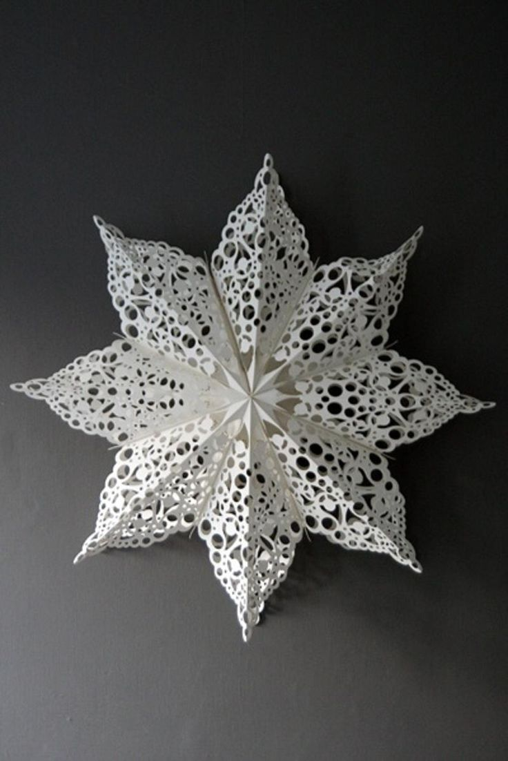 Christmas Craft Ideas With Paper Doilies : The best ideas about paper doilies on