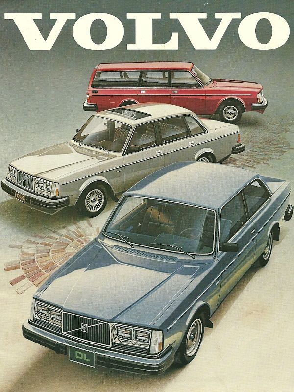 Volvo 1984~This was my second car...the blue one..loved it It was perfect!!