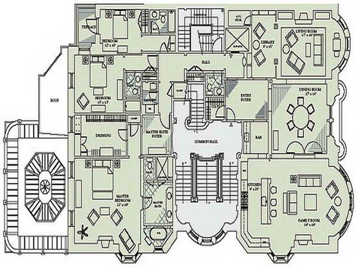 Good victorian mansion floor plans build gothic for Gothic mansion floor plans