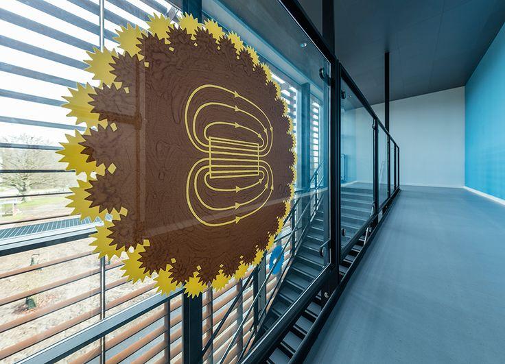 SDU Teknisk Fakultet - interiørglas med/uden digital keramisk print
