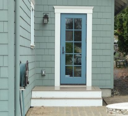 Cheryl S House In Sherwin Williams Quot Retreat Quot With Blue