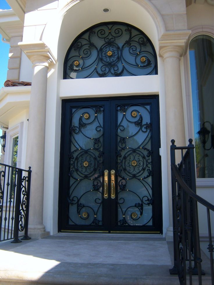 Best 20 Iron Front Door Ideas On Pinterest Wrought Iron