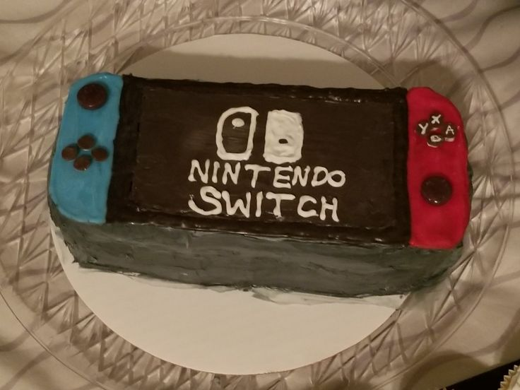 Nintendo Switch Birthday Cake In 2019 Birthday Cake