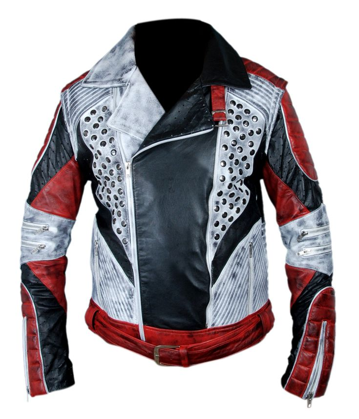 F&H Boy's Carlos Cameron Boyce Descendants 2 Jacket with Removable Arms M Multi. Premium Quality Synthetic Leather. Polyester + Satin Lining with 2 Inside Pockets. Original YKK Zipper. 30 Day Returns & Exchange, 100% Money Back Guarantee. International buyers may be required to pay import duties as levied by their government.