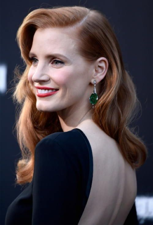 """I'm not the girl at the club on the table. I'm going to be the one in the corner, quiet and so I don't call attention to myself."" - Jessica Chastain"
