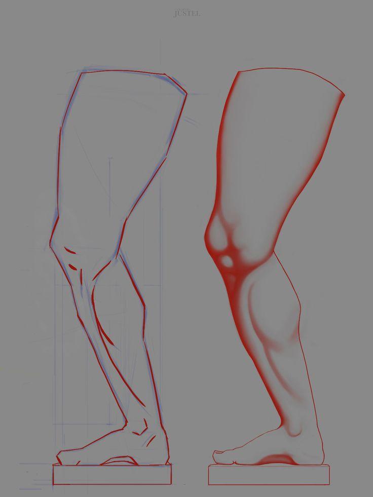 Bargue - Anatomy 2013 - 2D Version - LEG