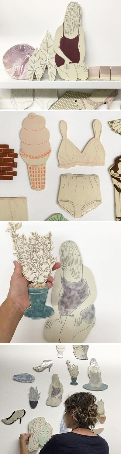 Ceramics by Genevieve Dionne