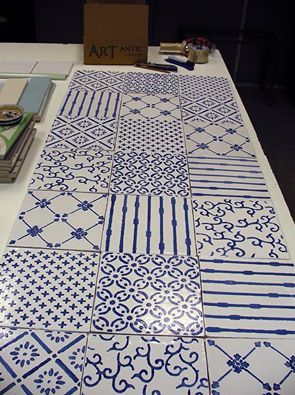 25 melhores ideias de azulejos pintados no pinterest Pintar azulejos a mano