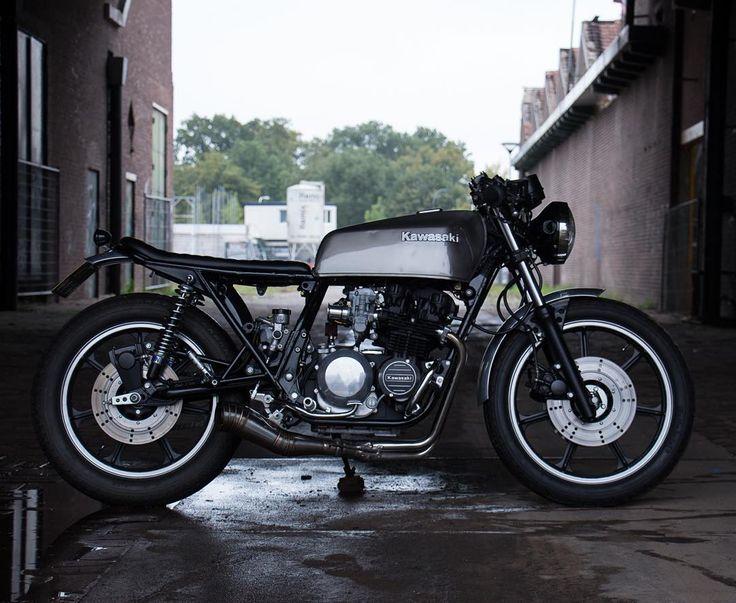 Kawasaki Z500 #caferacer discover #motomood
