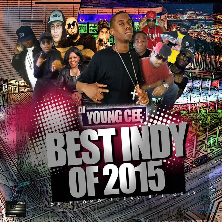 Dj Young Cee- Best Of 2015 Mega Cd
