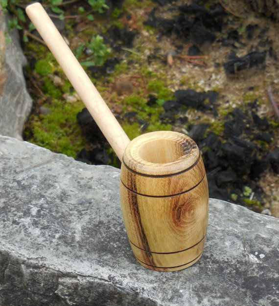 Mothers Day SALE Brew Barrel Pipe No Pipe Stand by FloggleWerks, $14.40