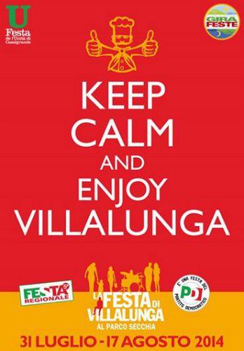 Keep Calm and enjoy Villalunga