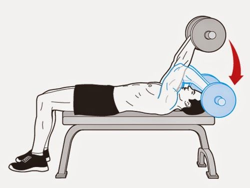 What Could Your Scary Symptoms Mean?: Lying Triceps Extension for Big Arms