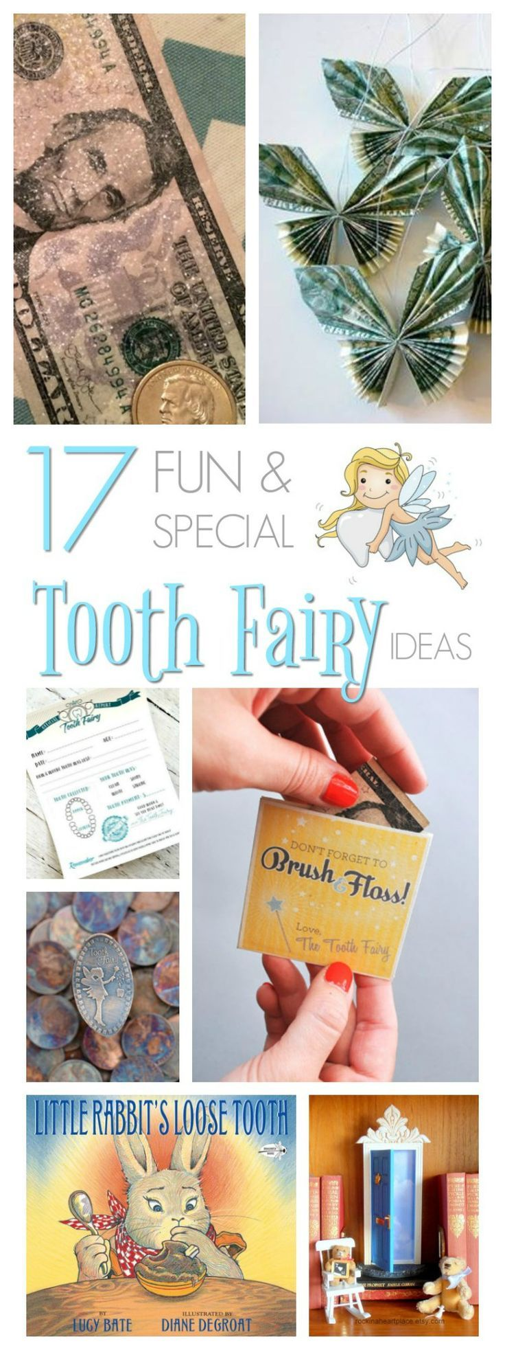 Your child has a loose tooth and they are so excited. Now make the visit from the Tooth Fairy extra special with these fun tooth fairy ideas.
