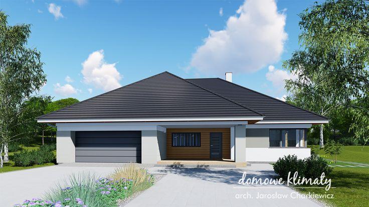 Projekt domu Kaprys V NF40, wizualizacja 1