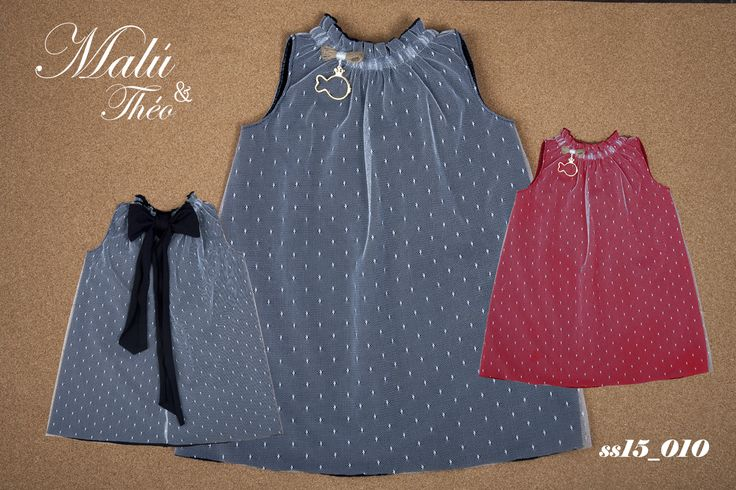 Tulle Dress - Italian Style for kids by Malu and Theo