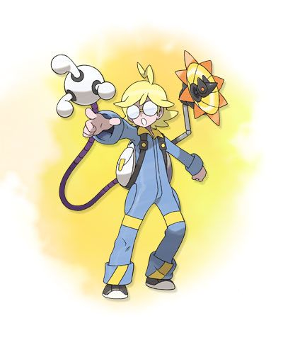 Gym Leader 3 clemont ( eletric type)