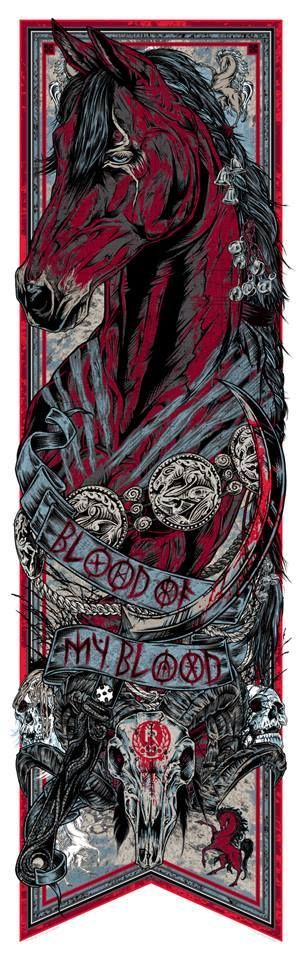 """Bloodied Game Of Thrones Banners 