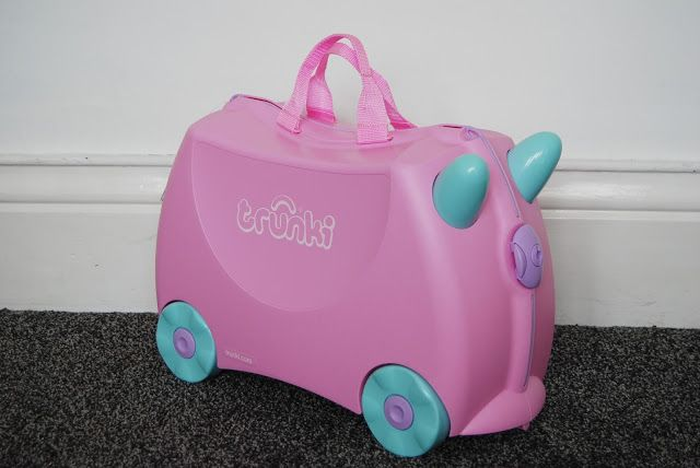 Chic Geek Diary: Trunki Ride On Suitcase - Review & Competition