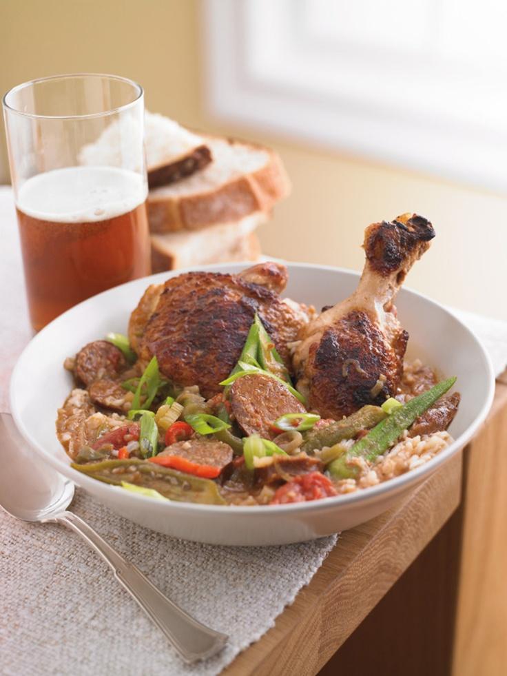 Chicken Andouille Gumbo #recipe #FoodNetwork #Kohls