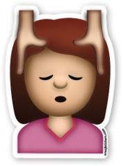 Face Massage | Emoji Stickers