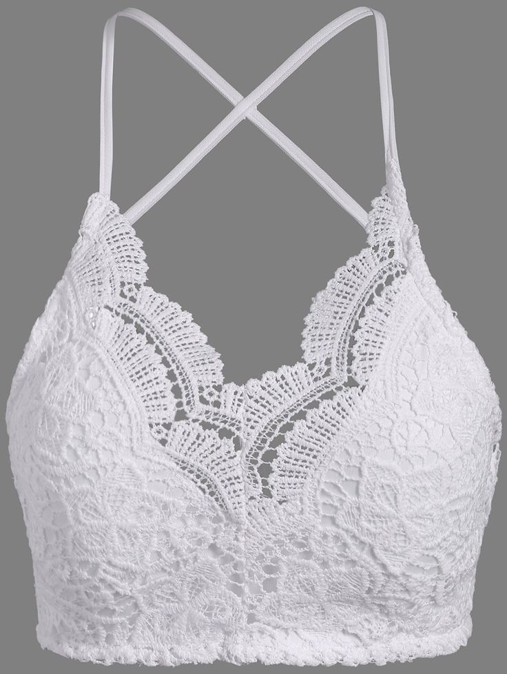 $7.97 Padded Lace Bra Top