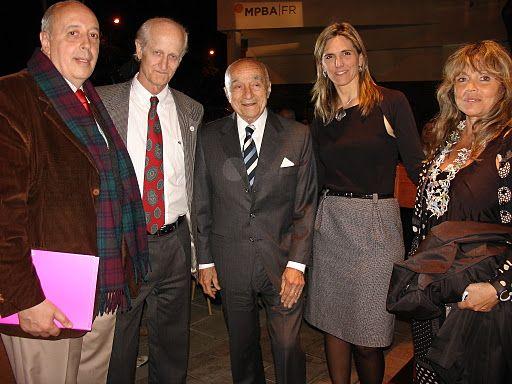 Alberto Petrina, Eduardo Bustelo, Ing Enrique Esquenazi, Virginia Agote, Cecilia Rabbi Baldi. Foto: MIRABAIRES