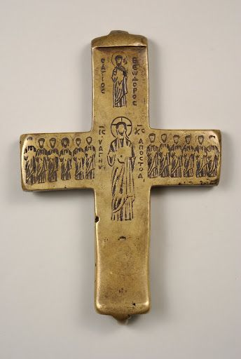 Cross of Mark the cave dweller (ecolpion)        Russia, 11th century