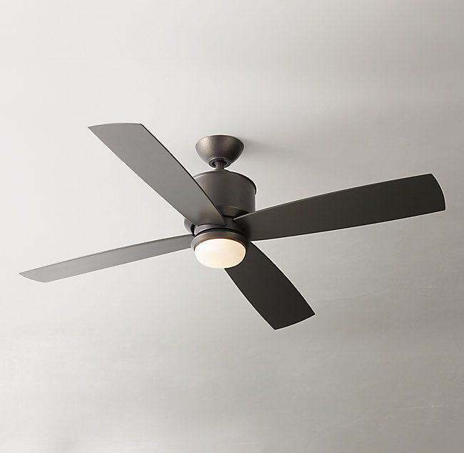 Zephyr 52 Ceiling Fan Smoked Iron Ceiling Fan 52 Ceiling Fan Ceiling Fan With Light