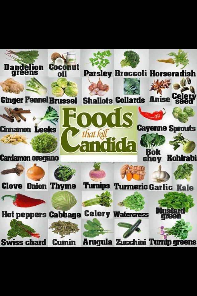 The Candida Diet: Beginner's Guide and Meal Plan