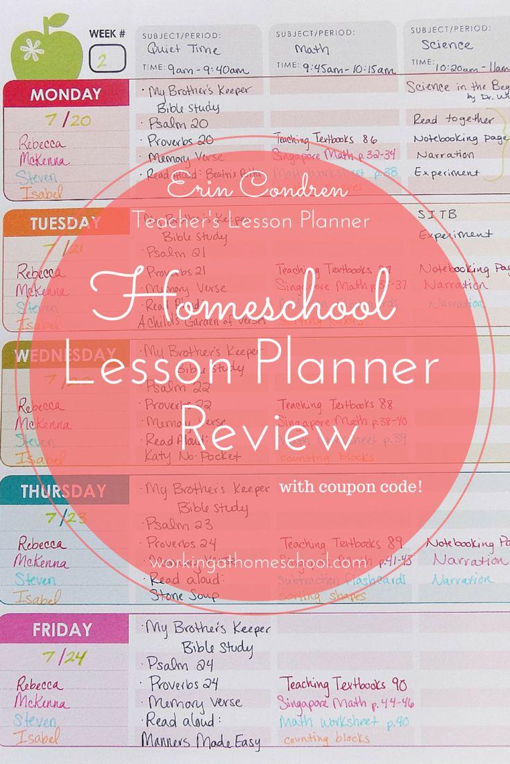 62 best homeschool ideas images on pinterest homeschooling homeschool lesson planner review fandeluxe Gallery