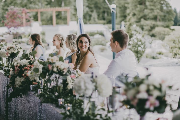 Dreamy Outdoor Wedding Reception {Alicia Strathearn Photography; Decor by Cinderella Slip Ons; Florist: Bridal Beginnings} #RedwoodsWeddings #summerwedding #magical  #dreams #goals #weddingreception  #receptiondecor #weddingdecor  #wedding #outdoorwedding #weddingceremony #vancouver  #britishcolumbia #westcoast #realweddings  #weddingvenues  #theknot #weddingflowers  #ido #outdoorwedding #weddingdecorations  #summerwedding  #reception #weddingdecor #weddingstyle #weddingplanning