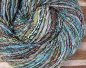 Sole stelle & - filati di arte secondo handspun handdyed lana ingombranti