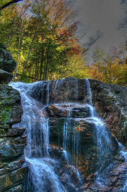 Flume Gorge, Franconia Notch State Park, New Hampshire