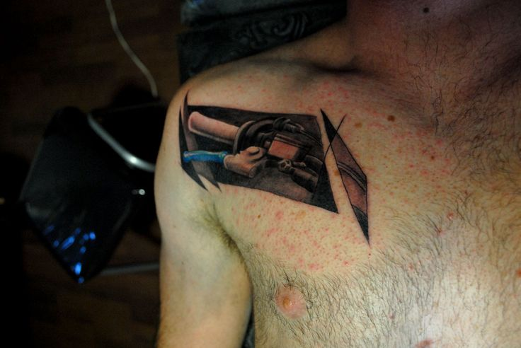 motocross tattoo