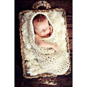 Honey Bun gehaakte cocon newborn