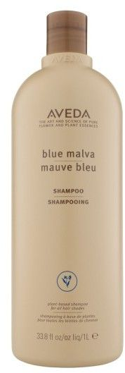 Aveda Blue Malva Shampoo - A shampoo that gently cleanses while adding silvery brightness to grey hair and neutralizing brassiness in chemically treated hair of all shades. Now that I am letting my grey grow in this has been my go to shampoo!  #ad#greyshampoo