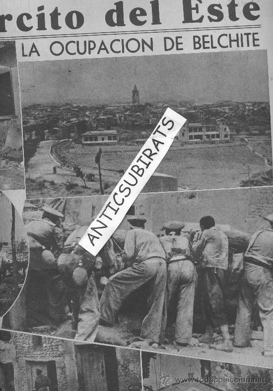 Coleccionismo de Revistas y Periódicos: LA VANGUARDIA.AÑO 1937.GUERRA CIVIL.EL EJERCITO DE LA REPUBLICA OCUPA QUINTO Y BELCHITE. - Foto 2 - 30408903