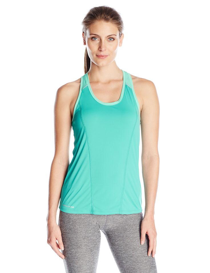 Pearl iZUMi Women's Pursuit Short Sleeve Top, Aqua Mint, X-Small. 100% Polyester. Imported product. Lightweight transfer dry fabric with Ice Fil Treatment provides superior moisture transfer and added cooling. Strategically placed Mesh material for ventilation. Added reflectivity for enhanced visibility.