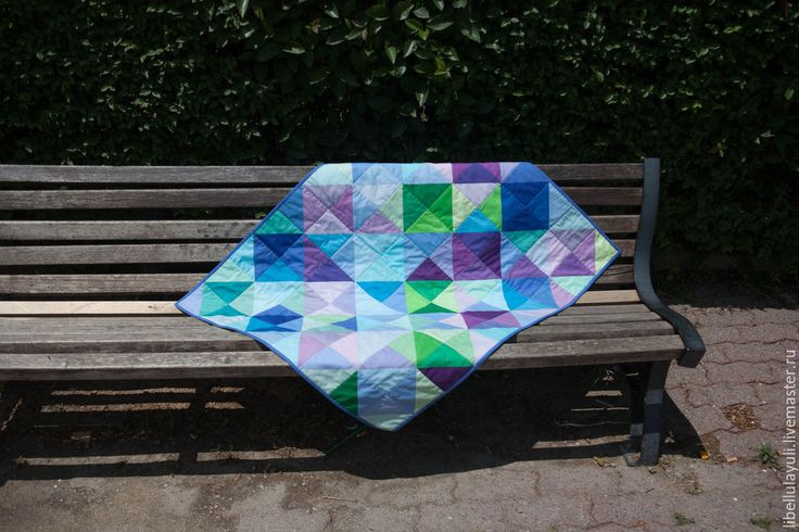 """Купить """"Лесной микс"""" детское лоскутное одеяло - лоскутное одеяло, детское лоскутное одеяло"""