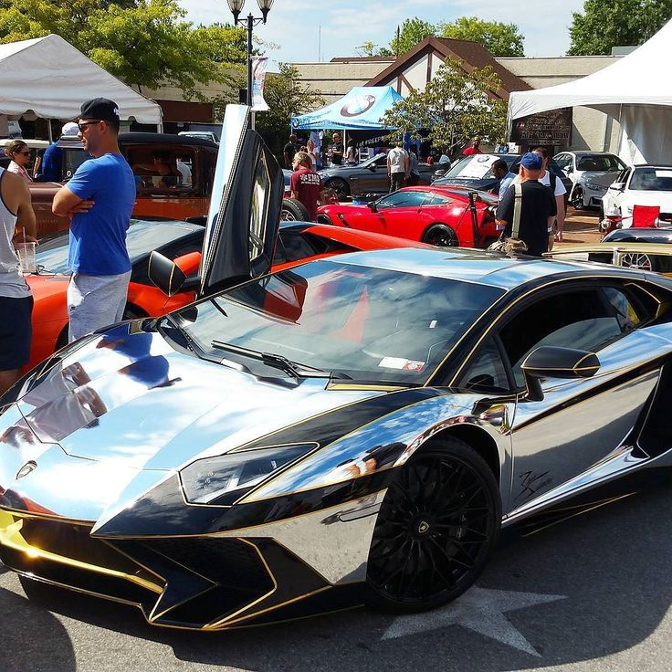 teamsalamone 's chrome Aventador was not