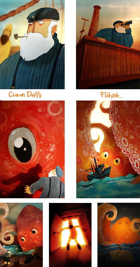 Ciaran Duffy with more wonderful children's book art.