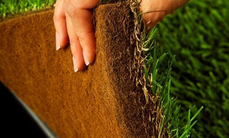 Anyone can feel how thick and absorbent DoggieLawn's indoor dog potty is and it is made of real grass which makes it the ideal grass patch for dogs.