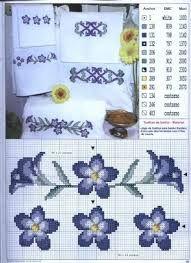 Resultado de imagem para cross stitch free patterns roses